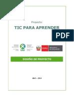 Diseño Del Proyecto TIC Para Aprender