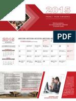 Calendario Minas 2015