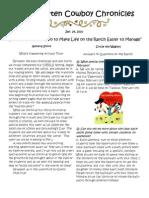 Newsletter 1.29