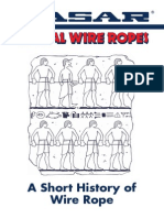 A Short History of Wire Rope, CASAR