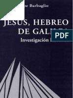 Barbaglio, Giuseppe - Jesus Hebreo de Galilea