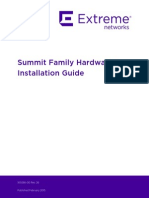 Summit Family HW Install