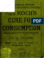 Professor Koch Treatment for Consumption (Tuberculosis)