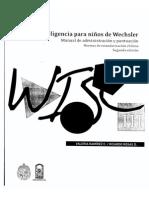 Manual WISC III v.ch.