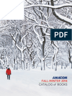 Amacom Fall-Winter 2014 Catalog of Books