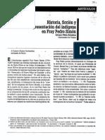 Historia, ficción y representación del indígena en la obra de Fray Pedro Simón.pdf