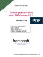 PDF Gratuit PDFCreator