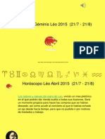 Horoscopo Leo Para Abril 2015