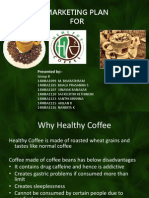 Healthy Coffee Marketing Plan Final