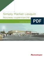 DP - Ouverture Simply Market Lesquin