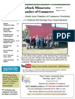 Starbuck Mn SACC Newsletter March 2015