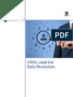 CMO's Lead the Data Revolution