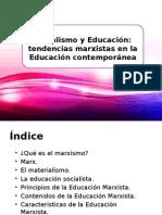 Socialismo y Educación. Marxismo.
