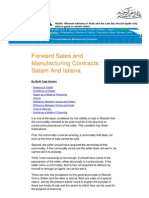 Forward Sales and Manufacturing Contracts Salam And Istisna.pdf