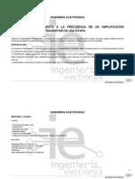 Practica de laboratorio Electronica Transistores