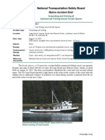 Grounding and Sinking of Commercial Fishing Vessel Pacific Queen