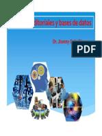 Revistas, Editoriales y Bases de Datos