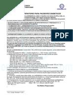 Protocolo perioperatorio diabéticos