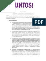 Pronunciamiento n°001 - Ante la derogatoria de la Ley Laboral Juvenil.pdf