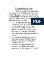 roman catholic chruch facts