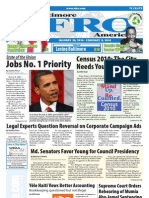 Baltimore Afro-American Newspaper, January 30, 2010