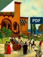 ΟΔΥΣΣΕΙΑ Ο - Ο Τηλέμαχος επιστρέφει στην Ιθάκη- Συνάντηση με τον Οδυσσέα - Αναγνωρισμός