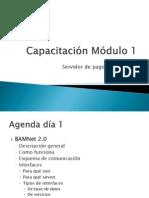Capacitación Módulo 1