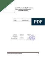 Manual Mutu Sarana Dan Prasarana