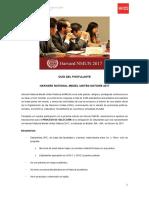 Guía del Postulante UPC HNMUN 2017