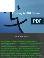 Locking in SQL Server