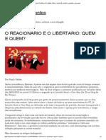 o Reacionário e o Libertário_ Quem é Quem_ _ Questões Relevantes