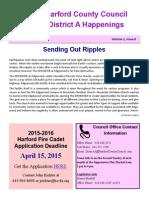 District A Happenings, April 1, 2015