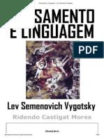 Pensamento e Linguagem - Lev Semenovich Vygotsky.pdf