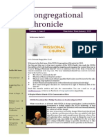 Congregational Chronicle January 2015