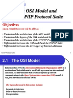 OSI model and TCP/IP protocol suite