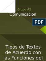 diapositivas Comunicación