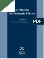 Ley Organica Del Ministerio Publico Ley133-11
