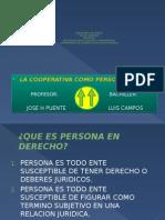 Diapositiva Expo Personas Juridica cooperativa