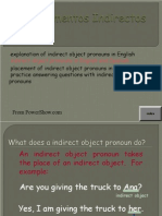 03/26/15 Indirect Object Pronoun -IOP-