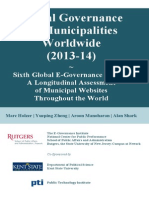 Digital Governance Municipalities Worldwide 2014