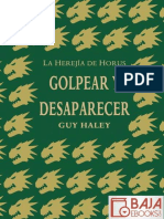 Golpear y Desaparecer - Guy Haley