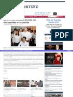 26-03-2015 Nerio Torres incluye a jóvenes con discapacidad en su planilla