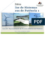 Análise de Sistemas Elétricos de Potência 1 (ENE005 ) - Aula-03_ENE005.PDF