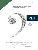 Felipe Devincenzi - Análisis del Concierto para Contrabajo en Si menor de G. Bottesini