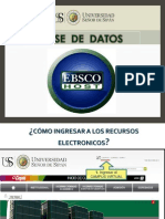 Guia de Ebsco