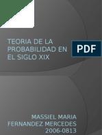 Teoria de La Probabilidad en El Siglo Xix