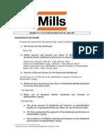 OGM - Allocation of Net Income