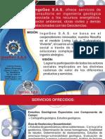 Portafolio de Servicios IngeGeo_consultoria en Ingeniería Geológica Putumayo