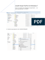 Instalación Microsoft Visual FoxPro 9