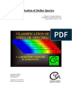 Classification of Stellar Spectra